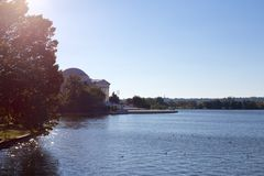 Jefferson Memorial on the Reservoir Stock Photography