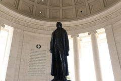 Jefferson Memorial Statue Royalty Free Stock Image