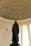 Jefferson Memorial Statue Royalty Free Stock Photography