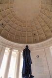 Jefferson Memorial Statue Royalty Free Stock Image