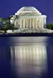 Jefferson Memorial and Tidal Basin Evening Stock Image