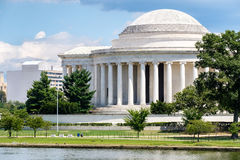 Jefferson Memorial in Washington Lizenzfreie Stockfotos