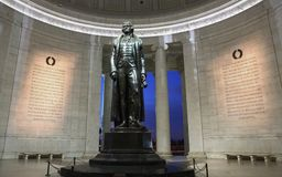 Jefferson Memorial Washington DC stock image