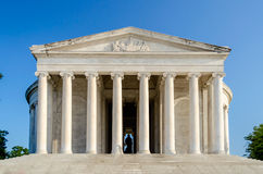 Jefferson Memorial in Washington DC Fotografie Stock
