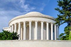 Jefferson Memorial in Washington DC Fotografie Stock Libere da Diritti