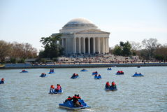 The Jefferson Memorial in Washington DC Stock Photos