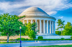 Jefferson Memorial in Washington DC Stock Photo