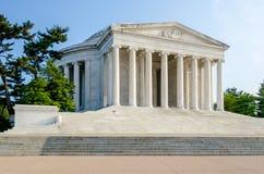 Jefferson Memorial in Washington DC. The Jefferson Memorial in Washington DC in daylight stock images