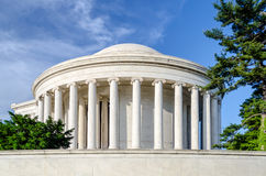 Jefferson Memorial in Washington DC Royalty Free Stock Photos