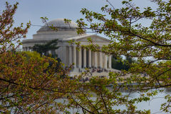 Jefferson Memorial in Washington DC USA Stock Photo
