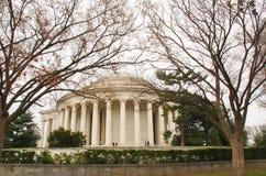 Jefferson Memorial in the Winter Stock Image