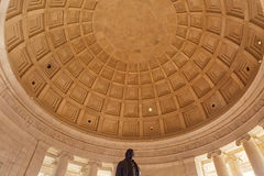 Jefferson Memoriial Ceiling royalty free stock photos