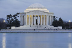Jefferson minnesmärke Royaltyfri Fotografi