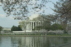 Jefferson pomnik Obrazy Stock