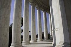 jefferson pomnik Washington fotografia royalty free