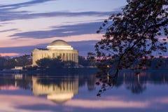 Jefferson pomnika DC Fotografia Royalty Free