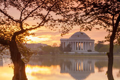 Jefferson pomnika DC Fotografia Stock