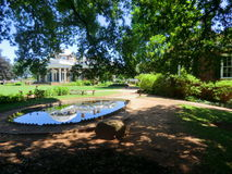 Jefferson`s Monticello. Royalty Free Stock Images