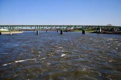 Jefferson ulicy wiadukt zdjęcie royalty free
