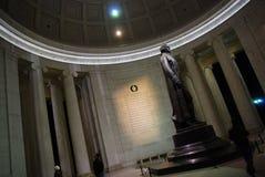 Jeffersons Denkmal Lizenzfreie Stockfotos