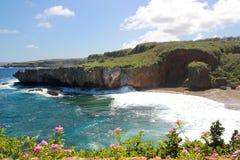 Jeffrey's Beach, Saipan Royalty Free Stock Images