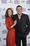 Jeffrey Dean Morgan, Hilarie Burton Royalty Free Stock Image