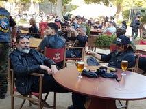 Jeffrey Dean Morgan Negan και νορμανδικό Reedus Daryl Στοκ Εικόνα