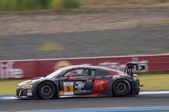 Jeffrey Lee av absoluta Racing i den asiatLe Mans serien - lopp på Royaltyfria Foton