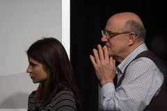 Jeffrey Tambor's Actor's Workshop at SXSW 2014 Royalty Free Stock Image