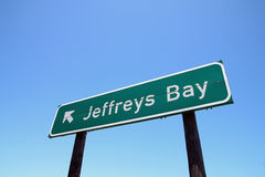 Jeffreys Bay, World famous surfspot Royalty Free Stock Image