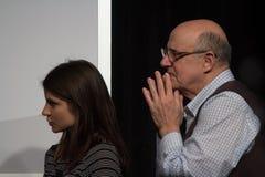 Jeffreys Tambors skådespelares seminarium på SXSW 2014 Royaltyfri Bild