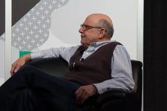 Jeffreys Tambors skådespelares seminarium på SXSW 2014 royaltyfria bilder
