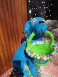 Jefy il cane capriccioso Fotografia Stock
