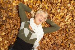 jego jesieni Zdjęcia Royalty Free