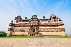 Jehangir Mahal (Orchha Fort) in Orchha Stock Image