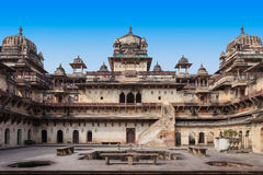 Jehangir Mahal (Orchha Fort) in Orchha Royalty Free Stock Photos