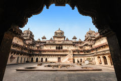 Jehangir Mahal Royalty Free Stock Photo