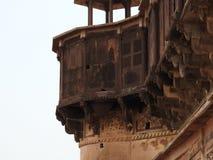 Jehangir Mahal, Orchha fort, Religia Hinduism, forntida arkitektur, Orchha, Madhya Pradesh, Indien royaltyfri foto