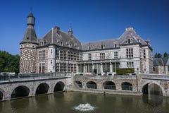 Jehay kasztel, Belgia Zdjęcia Stock