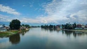 河Jehlum 图库摄影