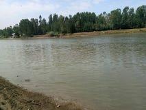 Jehlum-Fluss Lizenzfreies Stockbild
