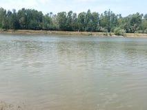 Jehlum-Fluss Stockfotografie