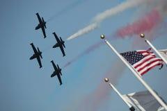 Jei di Airshow nella formazione Fotografia Stock Libera da Diritti