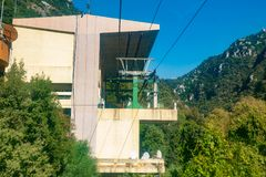 Jeita grotto cableway Stock Photo
