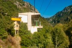 Jeita grotto cableway Stock Photos