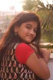 Jej piękni ciepli uczucia Fotografia Stock