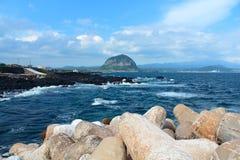 Jeju τοπίου Στοκ Φωτογραφίες