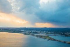 Jeju do beach Island, South Korea. Jeju do beach Island in South Korea royalty free stock photos
