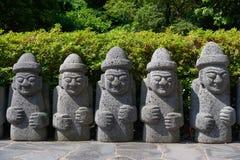Jeju Dol Hareubang Fotografia Stock