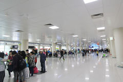 Jeju international airport Royalty Free Stock Images